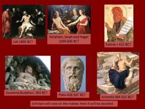 Job to Aristotle