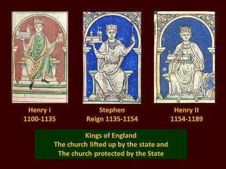 the church in england 1100 - 1189
