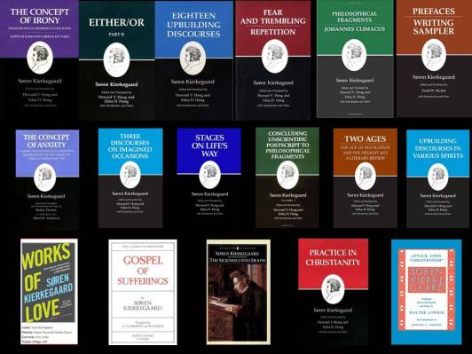 Al of Kierkegaard's books