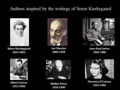 authors inspired by kierkegaard