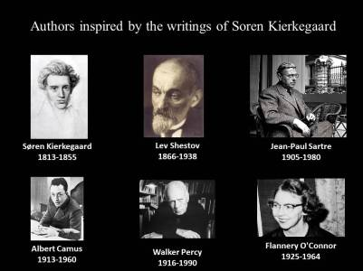 authors inspired by kierkegaard