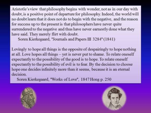 sk on wonder and doubt