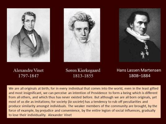 vinet, kierkegaard, and martensen