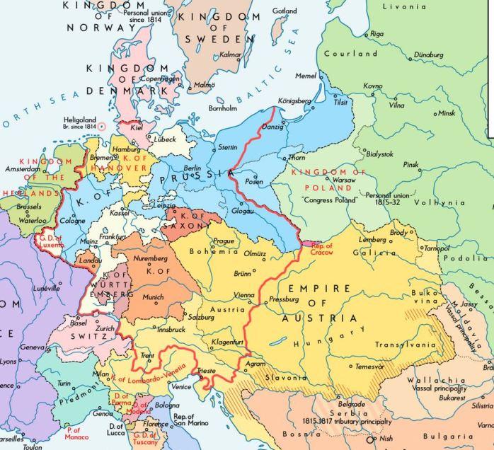europe-1815
