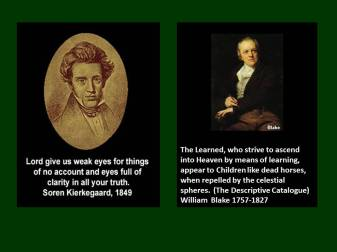 Kierkegaard and blake