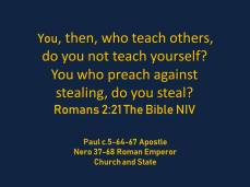Romans 2-21