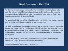 sk on doubt descartes