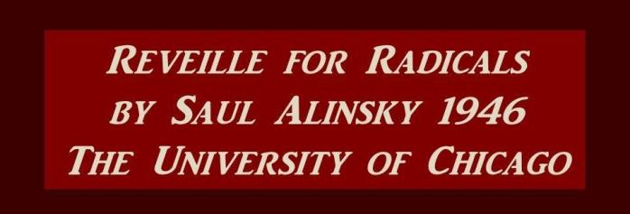 alinsky radical