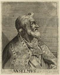 NPG D23953; St Anselm by George Glover